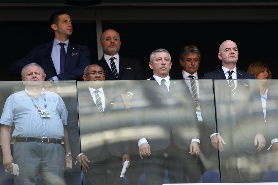 Slaviša Kokeza Đani Infantino FIFA