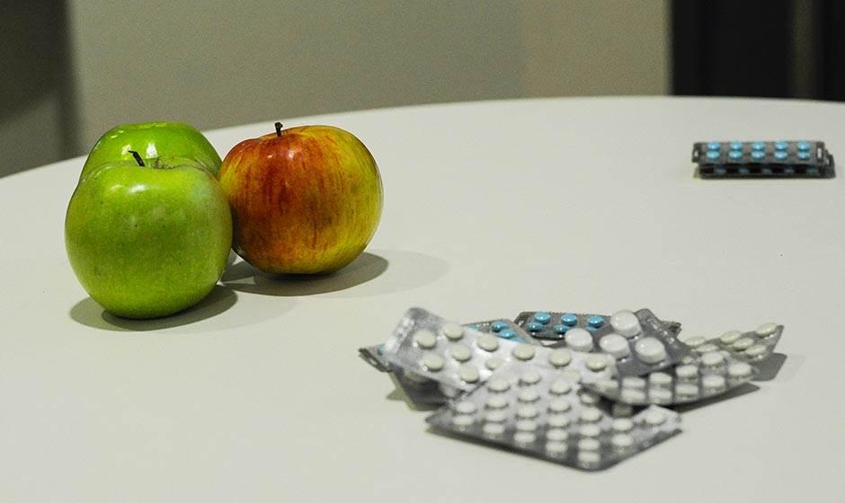 jabuka, lekovi, lek, depresija, tablete, antidepresiv, pilule, zdravlje,