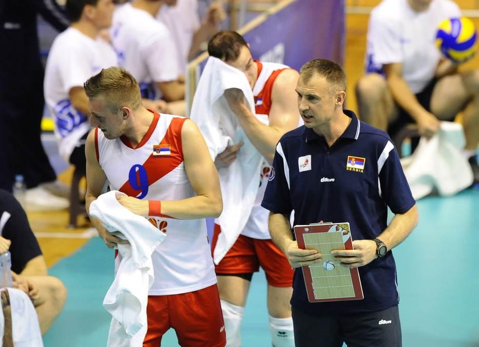Nikola Grbić i Nikola Jovović, odbojkaši Srbije