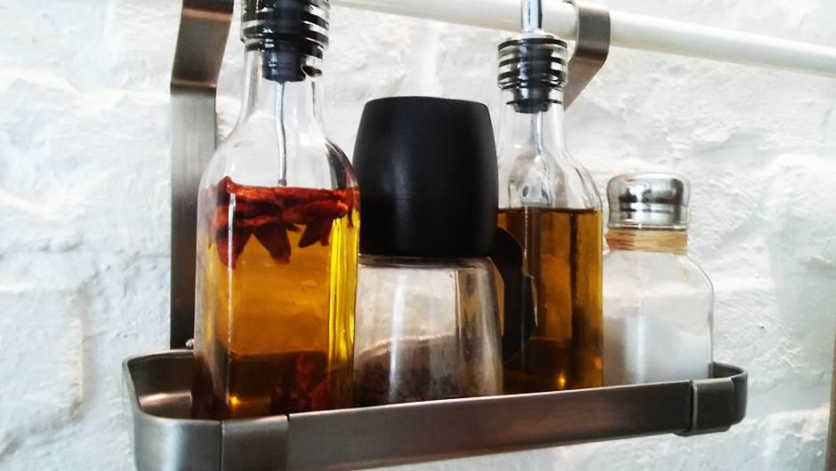 restoran, ulje, biber