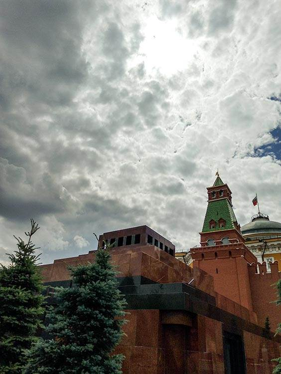 Šetnja oko Kremlja