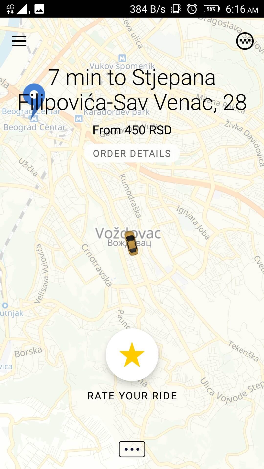 Prvi put Yandexom u kafananje