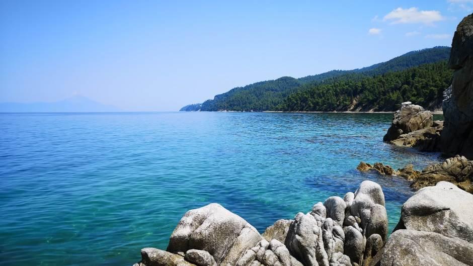 Grčka, Posidi, Xenia, Sitonia, plaže, more, plaža, leto