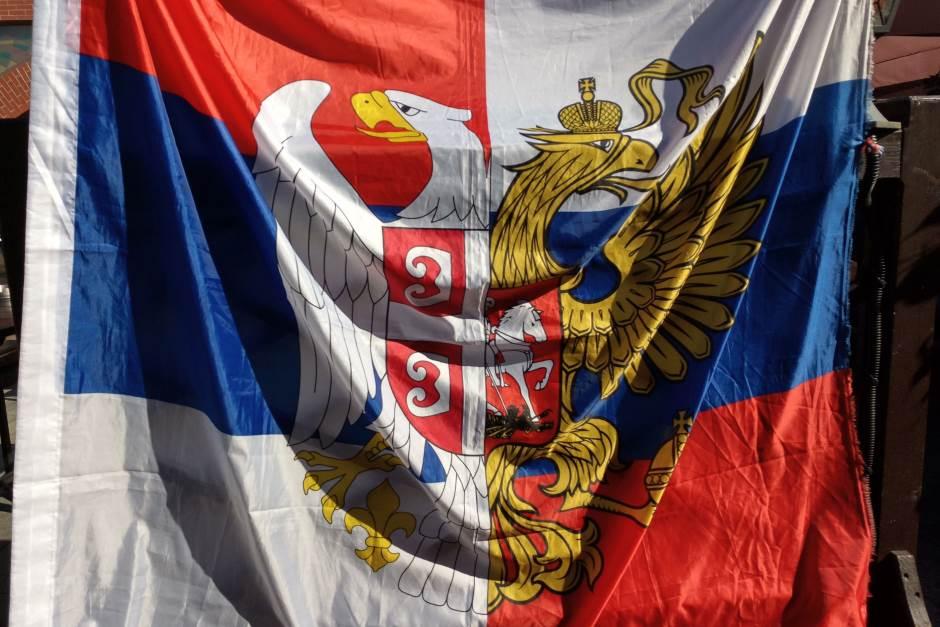 srbija, rusija, zastava
