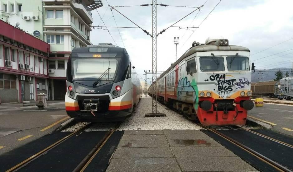 vozovi, željeznička stanica