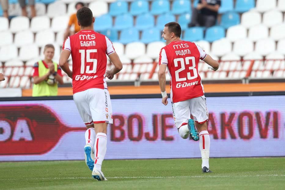 Milan Rodić FK Crvena zvezda