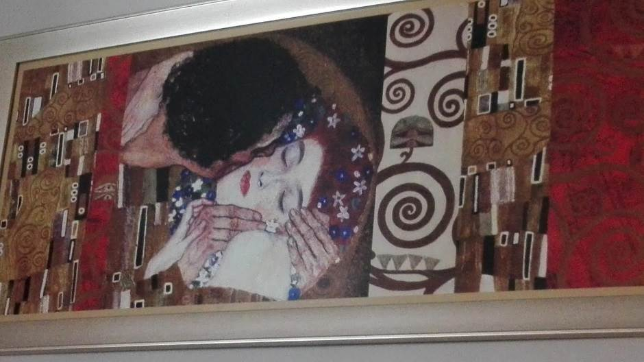 Klimt,poljubac
