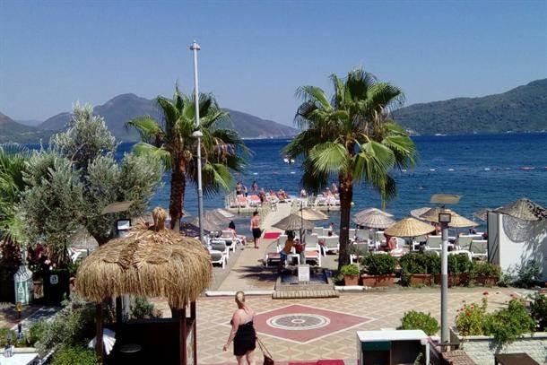 plaža, more, leto, letovanje, palme, turska
