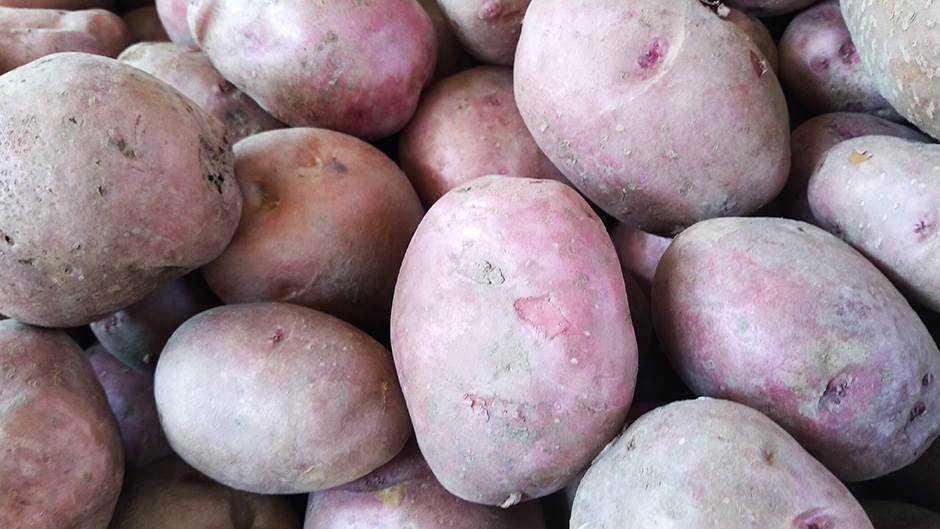 krompir na pijaci