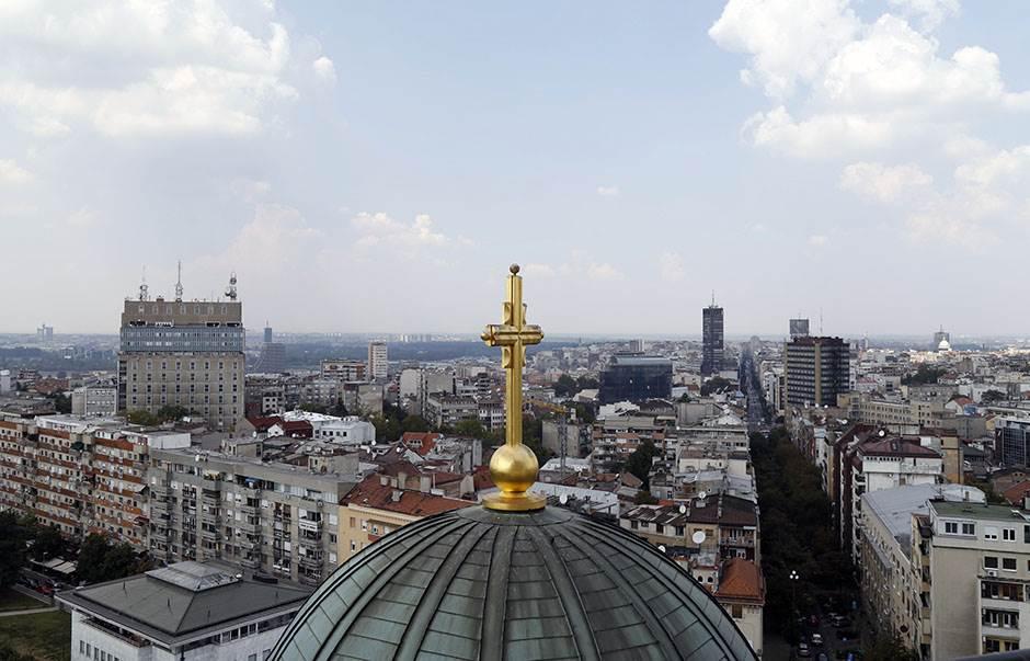 crkva spc hram svetog save beograd srbija