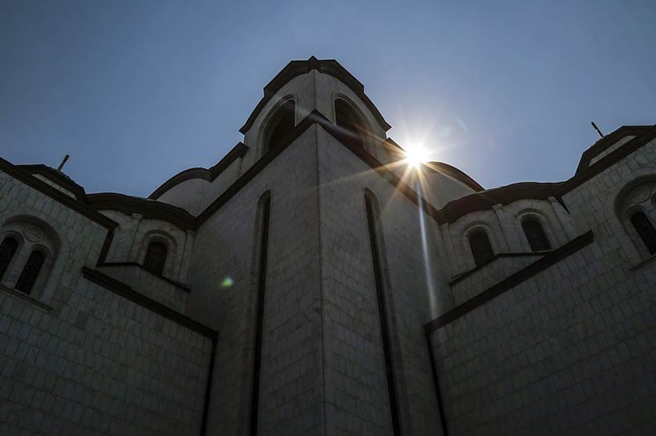 hram svetog save crkva vernici pravoslavlje spc