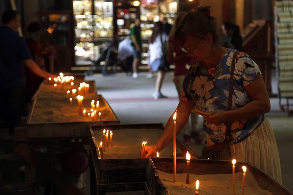 Hram Svetog Save: Mozaik gotov do proleća (FOTO, VIDEO)