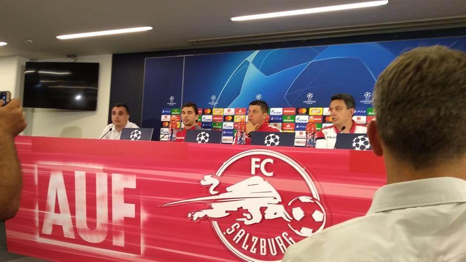 Milojević: Hteli smo da budemo ovde - i evo nas!