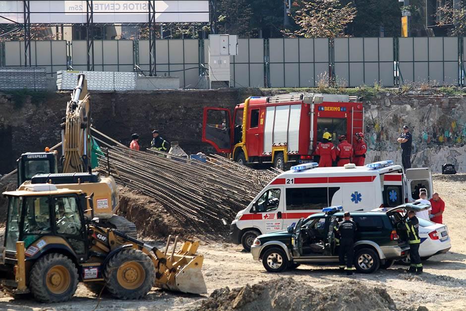 Tragedija u centru Beograda: Poginuo radnik