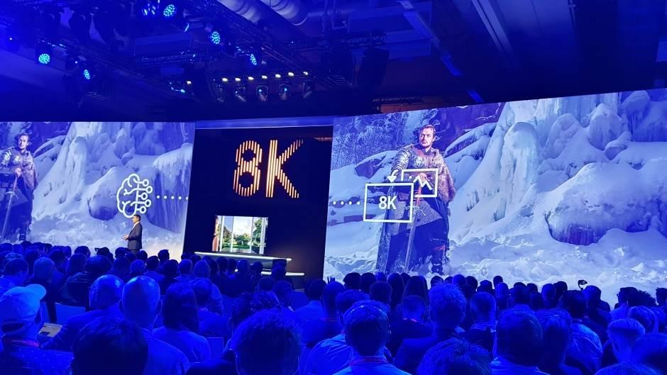 Samsung 8K TV, 8K, TV, IFA, IFA2018, IFA18