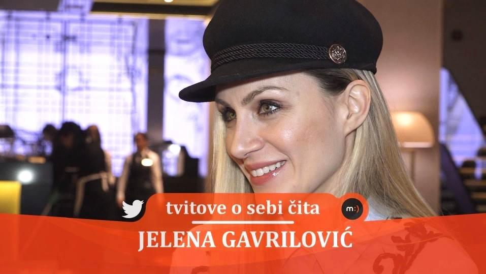 Jelena Gavrilović, mondo tv, tviter, tvitovi