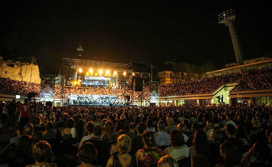 noć muzike, tašmajdan, koncert, publika
