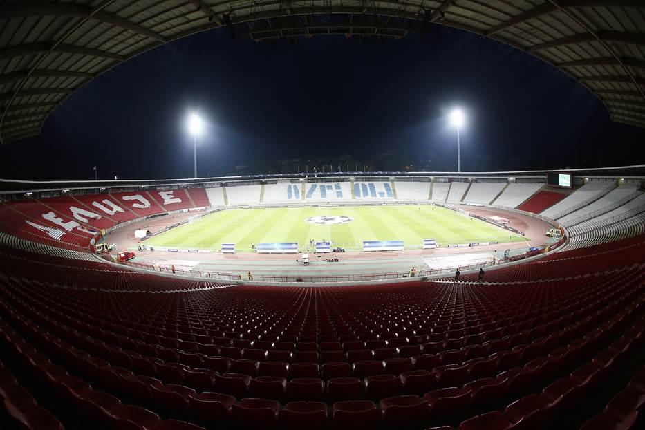"""""""Stop nasilju nad ženama"""" na stadionu Zvezde"""