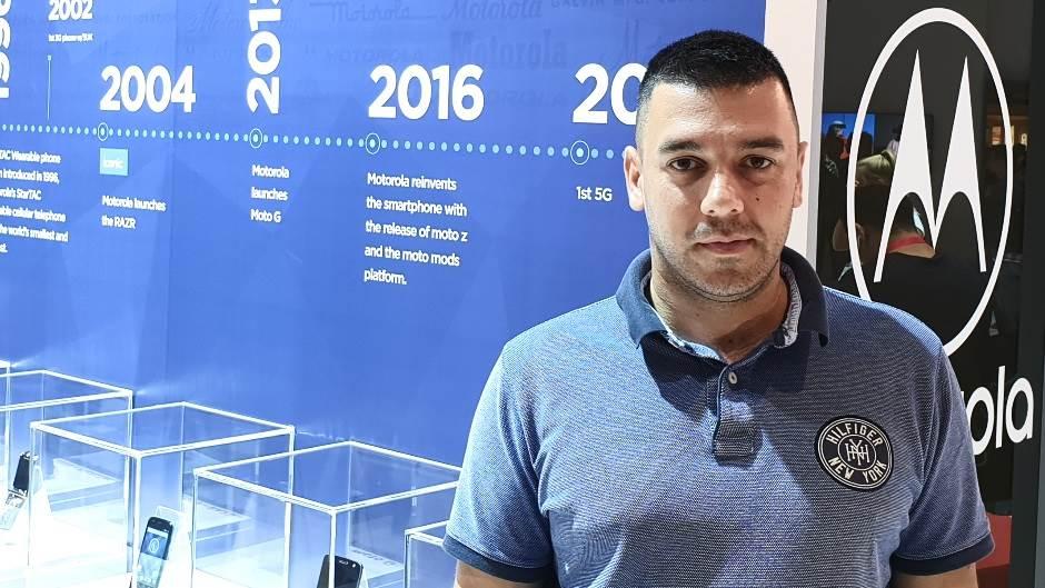 Vladimir Ostojić, Motorola Srbija.