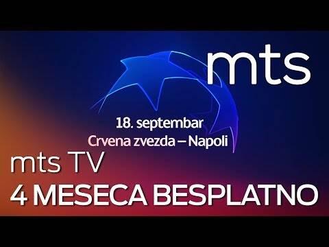 mts TV četiri meseca besplatno