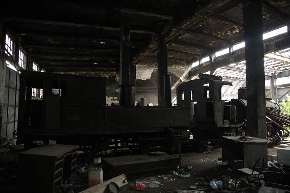 Beograd: Uništena najstarija lokomotiva