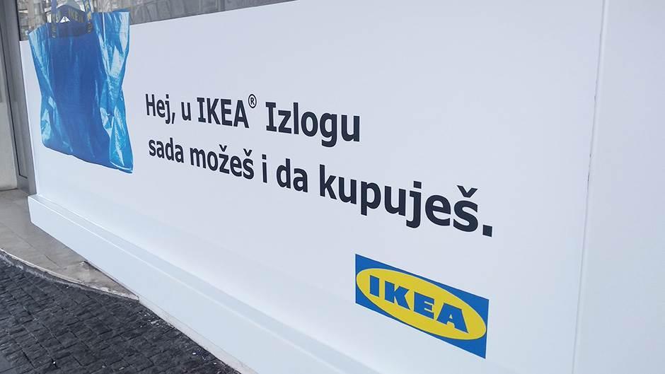 Ikea izlog