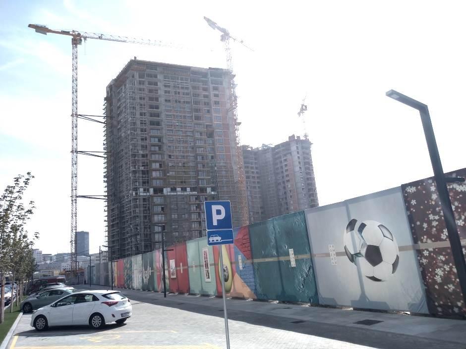gradilište, Beograd na vodi