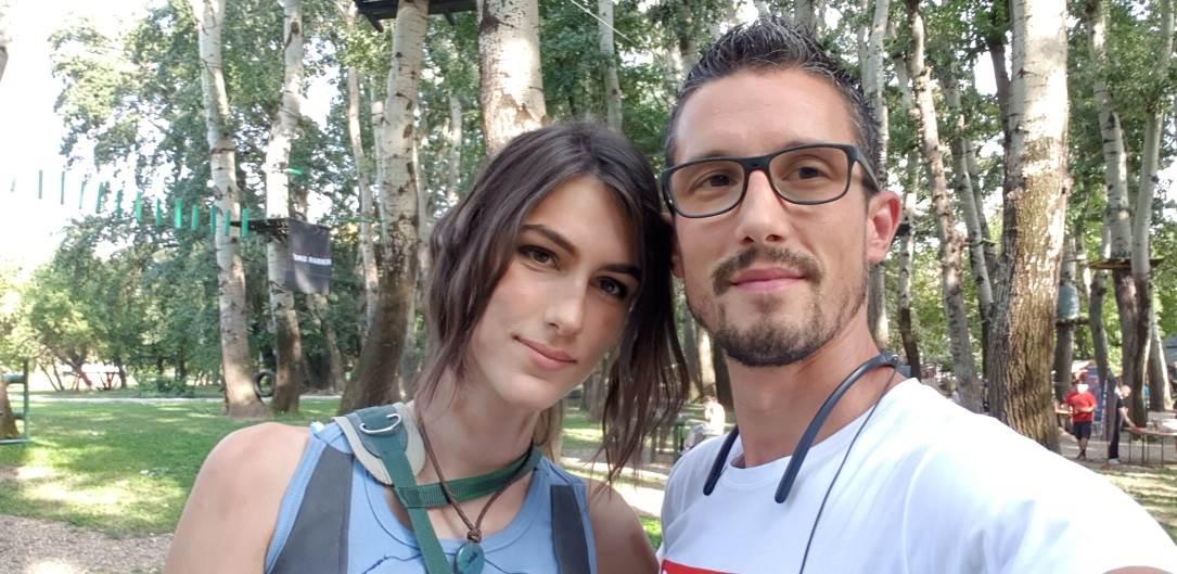 Lara Kroft prvi put u Srbiji - sreli smo je! FOTO