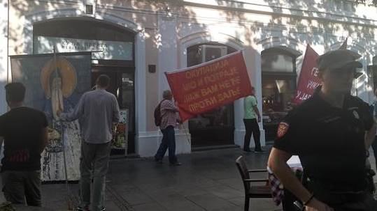 Upali u restoran da zaustave Paradu (FOTO,VIDEO)