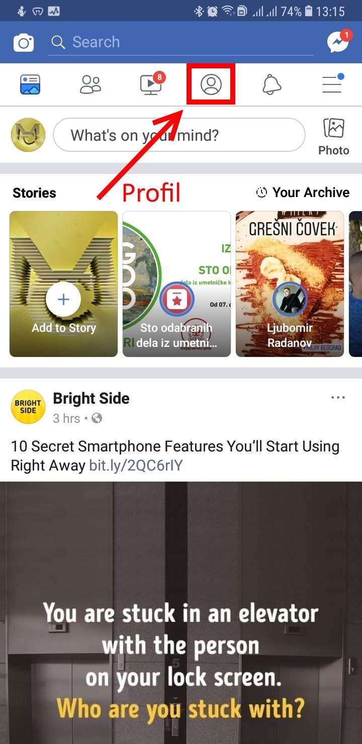 Facebook novo dugme: Opis i ko može da ga vidi