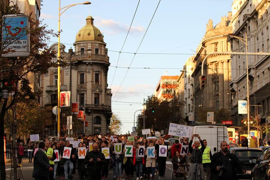 """""""Mame su ljute"""", novi protest u subotu kod Vlade"""