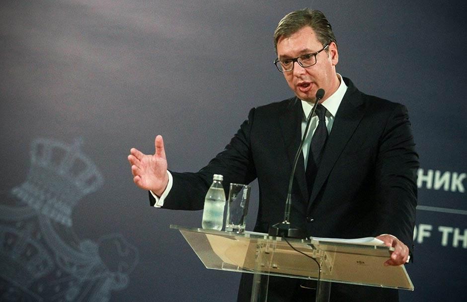 Slikovni rezultat za Vučić: Stvorena atmosfera da je dobro gaziti i rušiti Srbiju