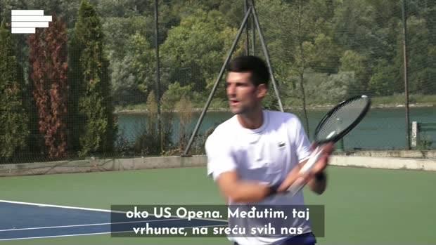 Novak Đoković u Beogradu
