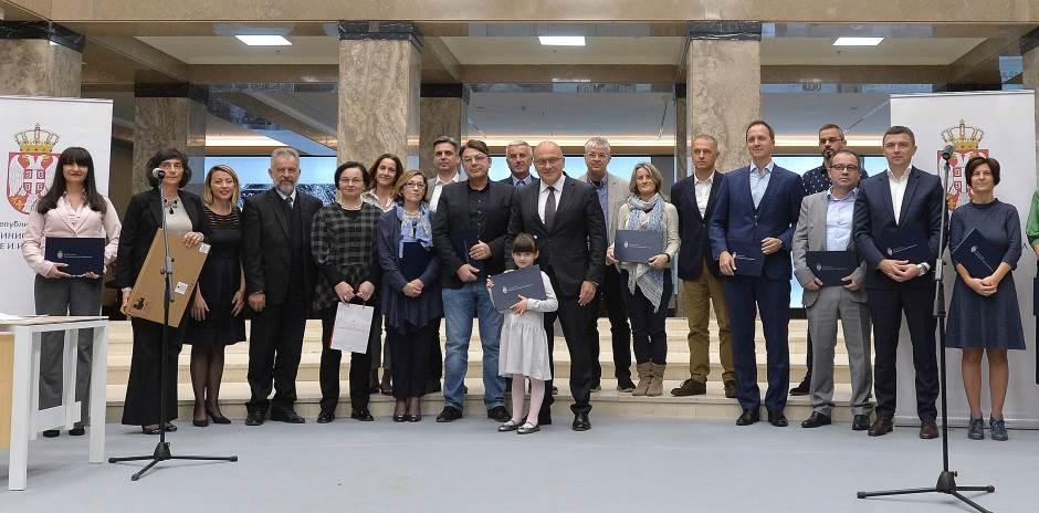 Telekomu nagrada za podršku digitalizaciji kulture