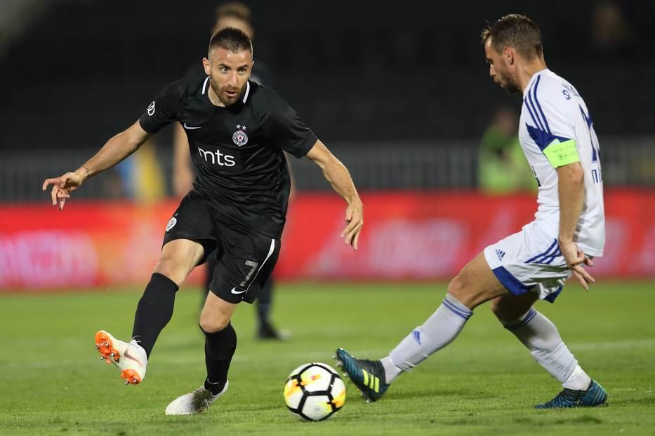 Zoran Bambi Tošić FK Partizan
