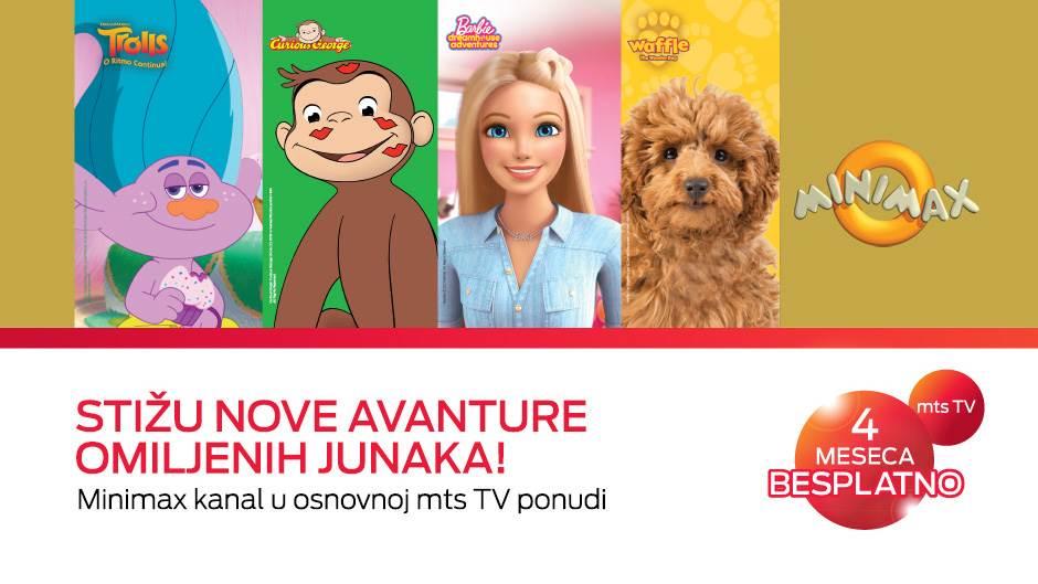 Gledajte Minimax kanal i osvojite sjajne poklone