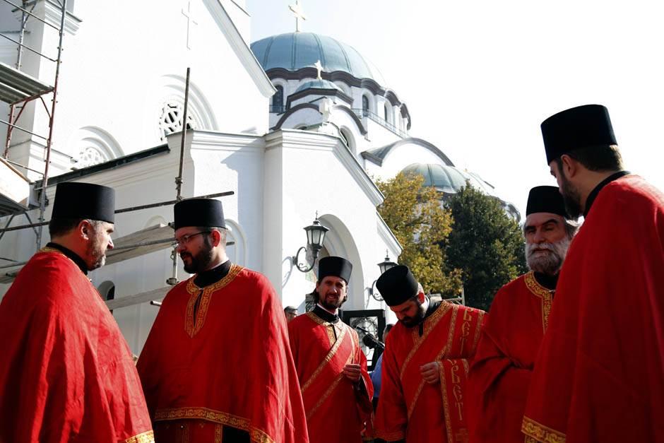 Mošti ruskih svetaca stigle u Srbiju