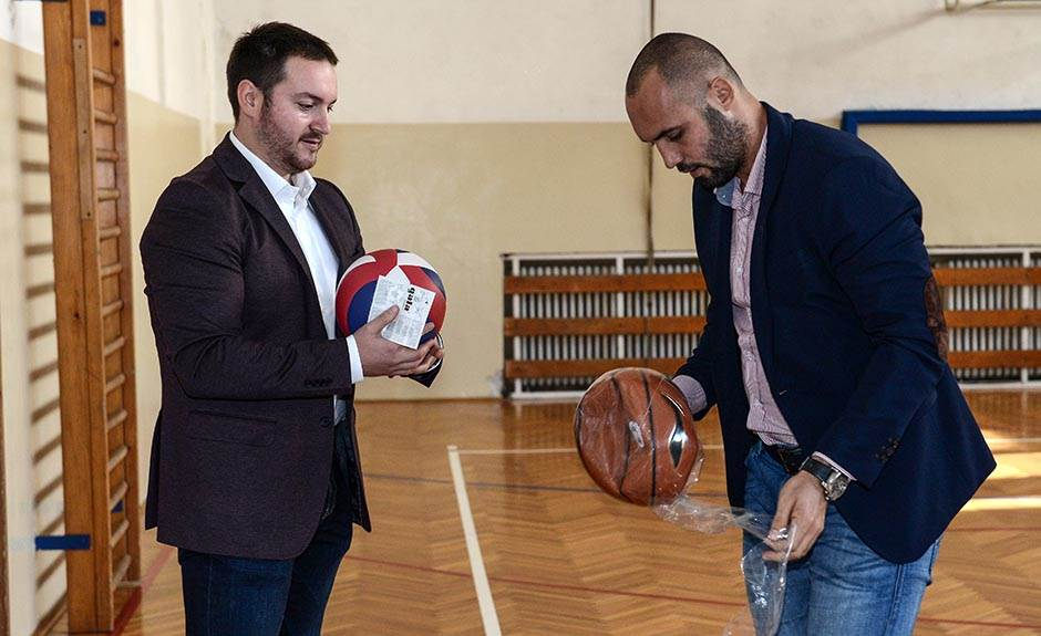 """Sportski rekviziti za učenike OŠ """"Drinka Pavlović"""""""