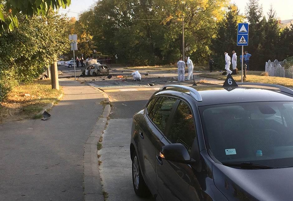 Eksplodirao automobil voditeljke Marijane Mićić!? VIDEO