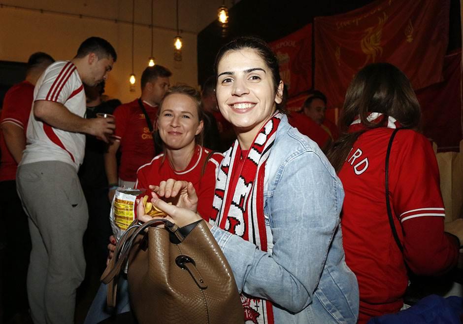 Veliki broj navijača Liverpula u Beogradu!