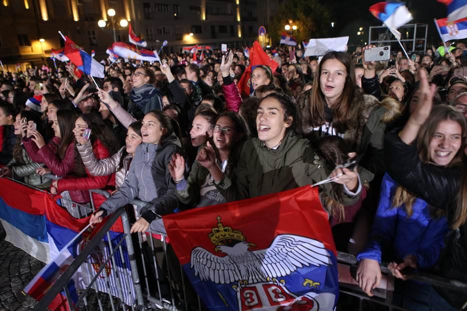 Beograd pozdravio zlatne odbojkašice