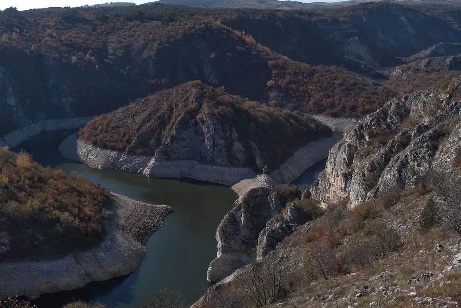 Uvac, kanjon Uvca, kanjon