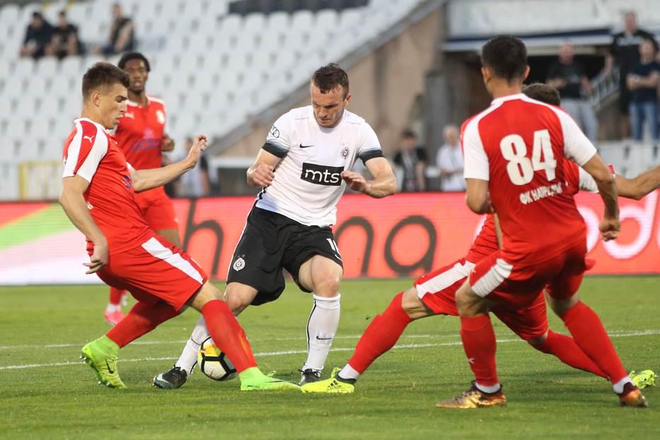 Partizan, Napredak