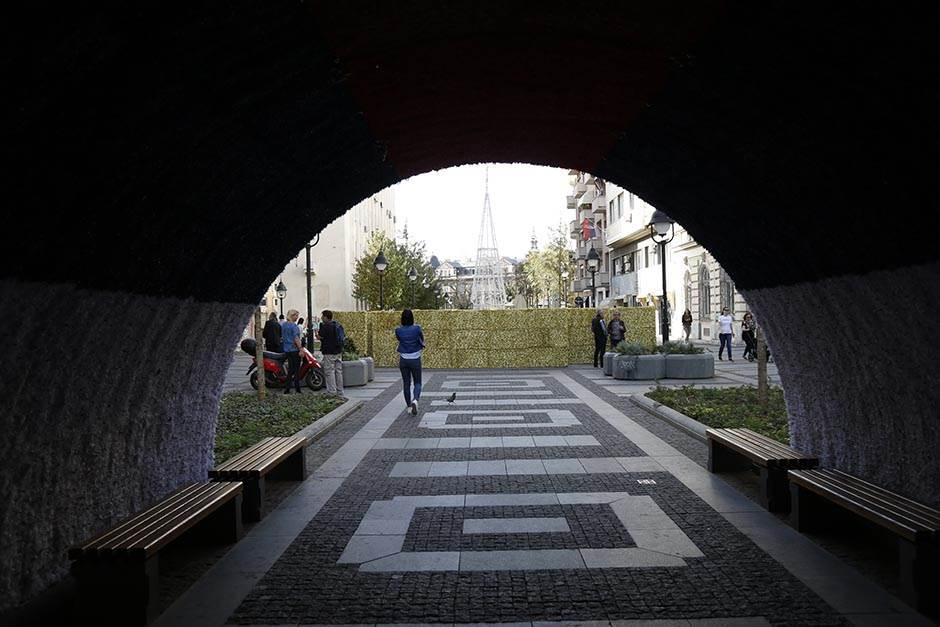 Posle tunela, lavirint na Obilićevom vencu