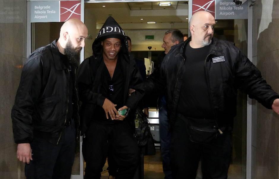 Ronaldinjo u Beogradu!