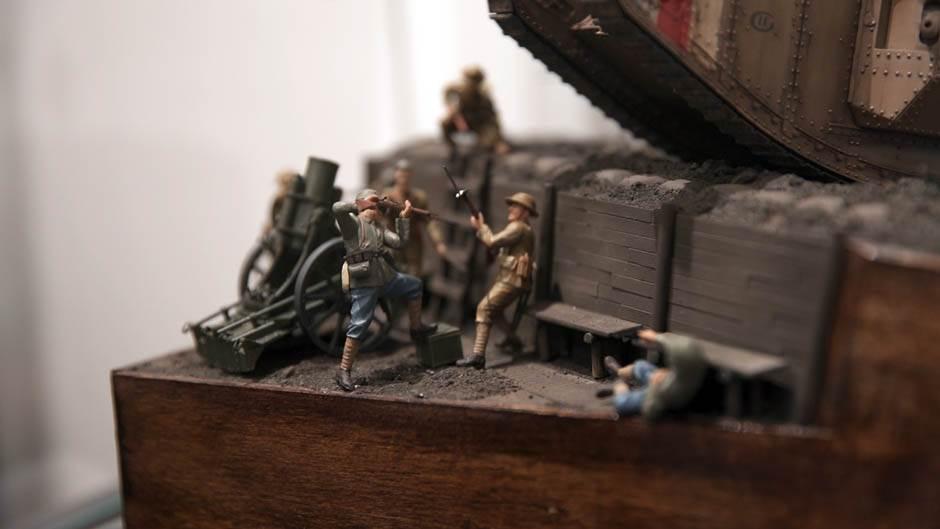 prvi svetski rat, izložba