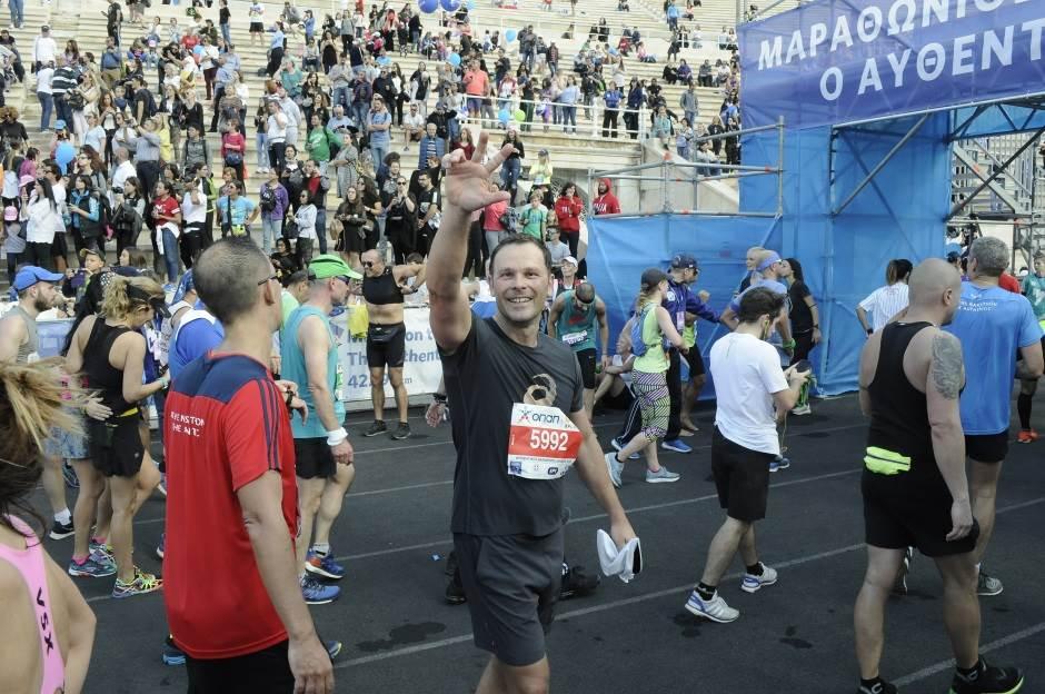 Siniša Mali, maraton u Atini, atinski maraton