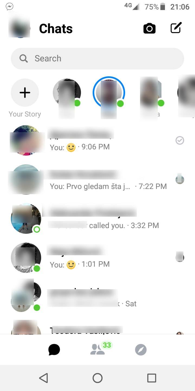 Od sada samo novi Messenger