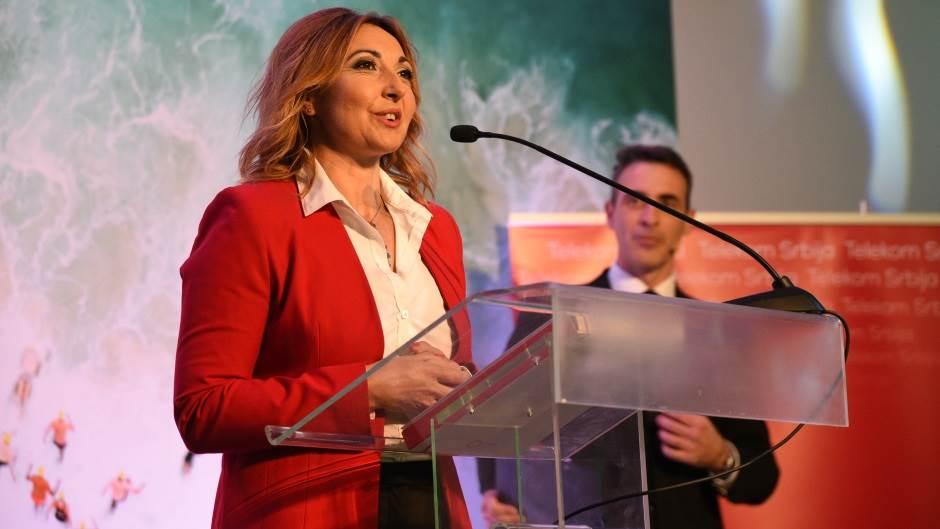 Marijana Vukašinović, šef službe za upravljanje sadržajima u kompaniji Telekom Srbija