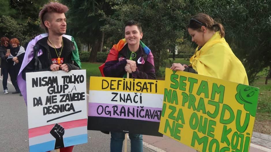 """Montenegro prajd, """"Ne ljubimo lance""""!"""